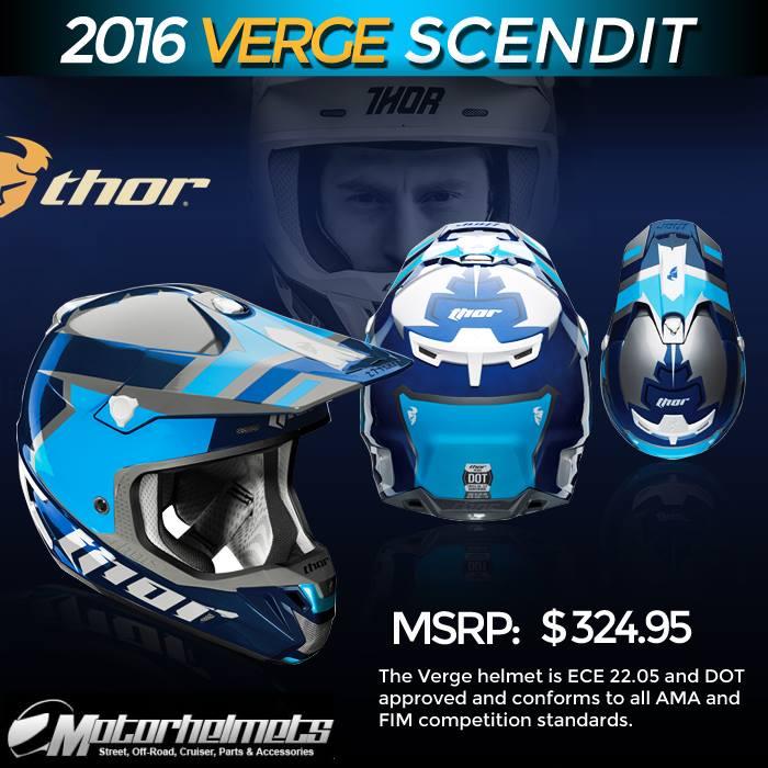 Thor MX Verge Scendit Men's Helmet