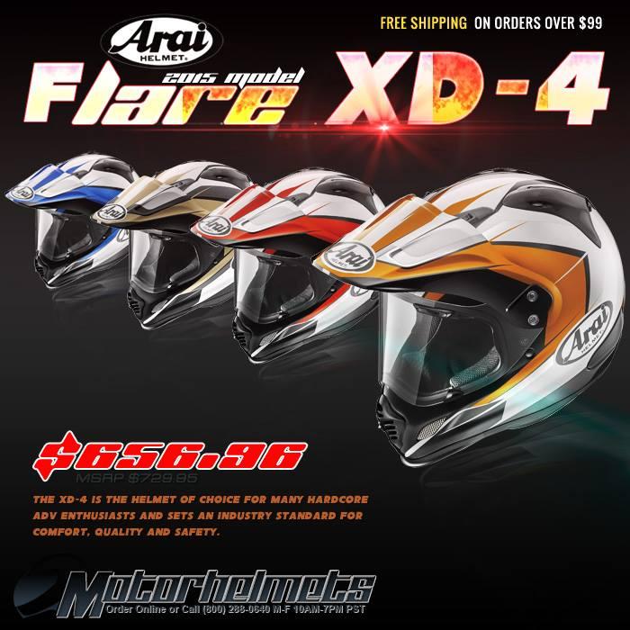 Arai Flare XD-4 Helmet