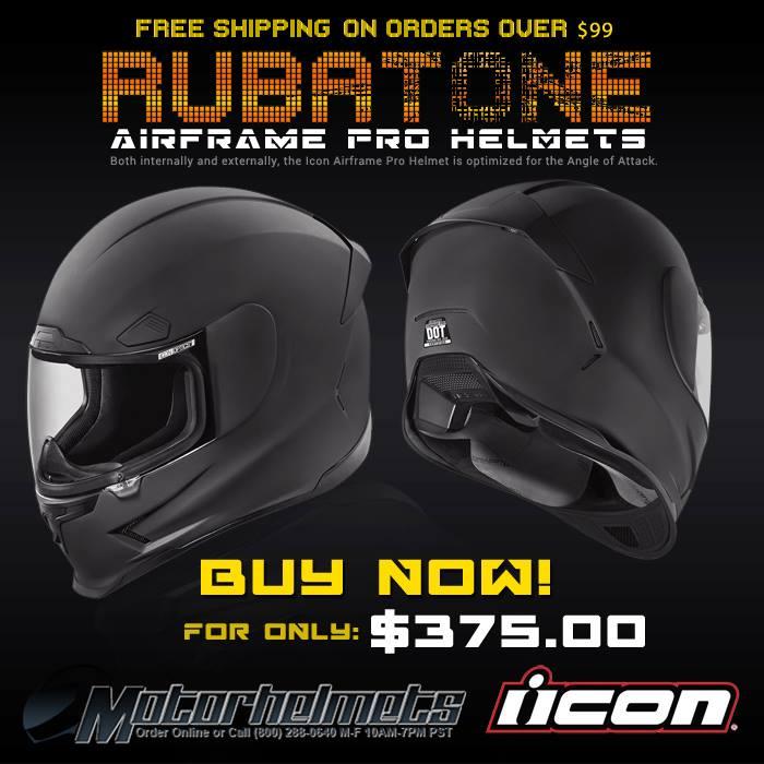 Icon Rubatone Aireframe Pro Helmet