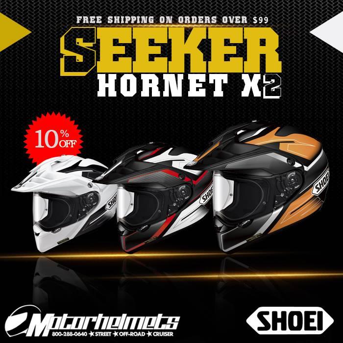 Shoei Seeker Hornet X2 MX Helmets
