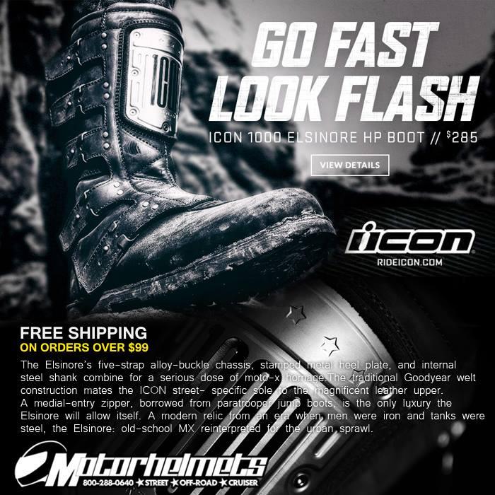 Motorhelmets Product Ad (Nov. 2015) : Icon Elsinore HP