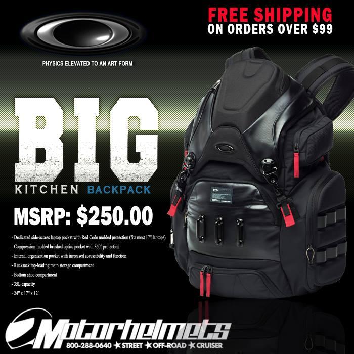 Oakley Big Kitchen Menu0027s Backpacks