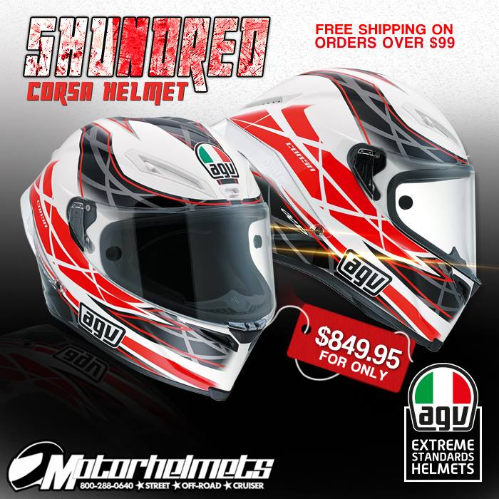 AGV 5Hundred Corsa Helmet
