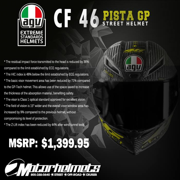 AGV CF 46 Pista GP Helmet