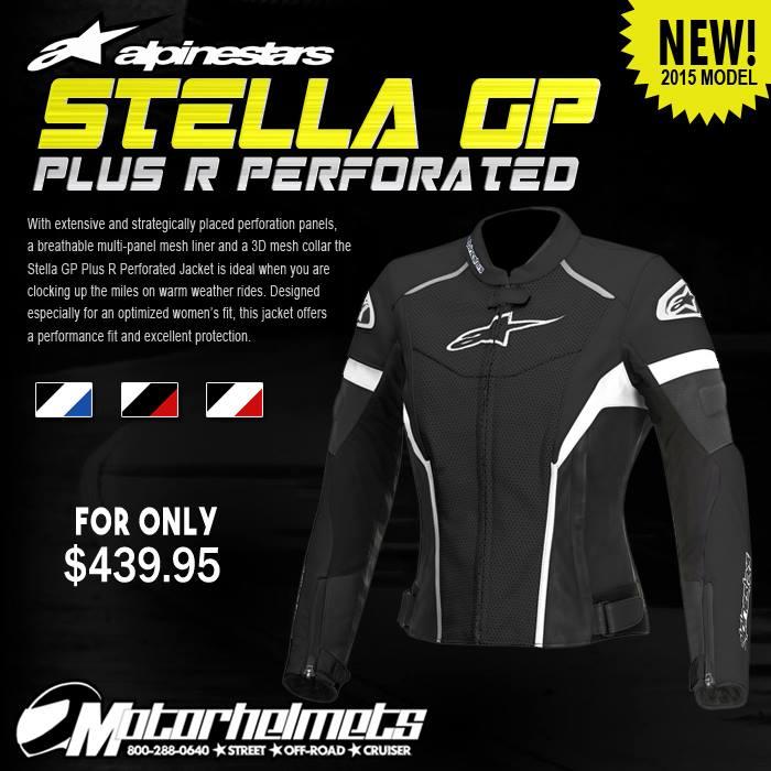 Alpinestars Stella GP Plus R Perforated Leather Jacket