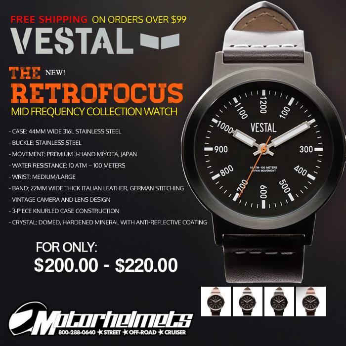 Retrofocus Mid Frequency Vestal Watch