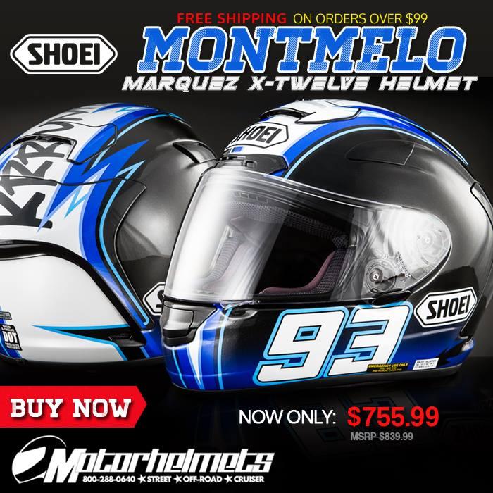 Shoei Montmelo Marquez X-Twelve Helmet