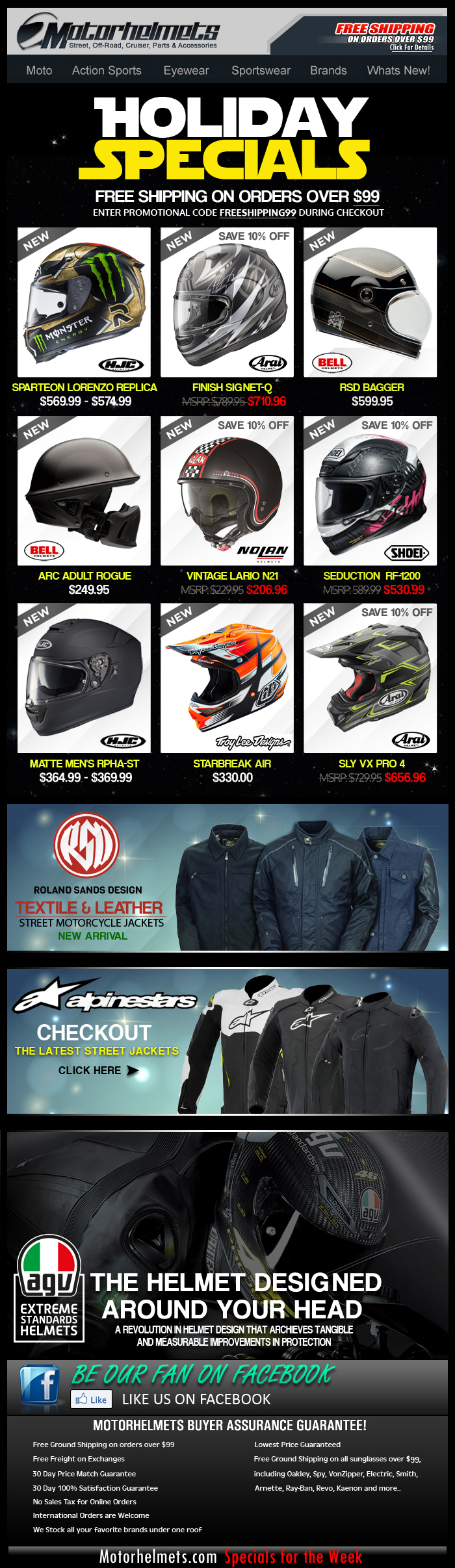 HJC, Shoei, Bell and More Last Minute Holiday Gift Ideas!