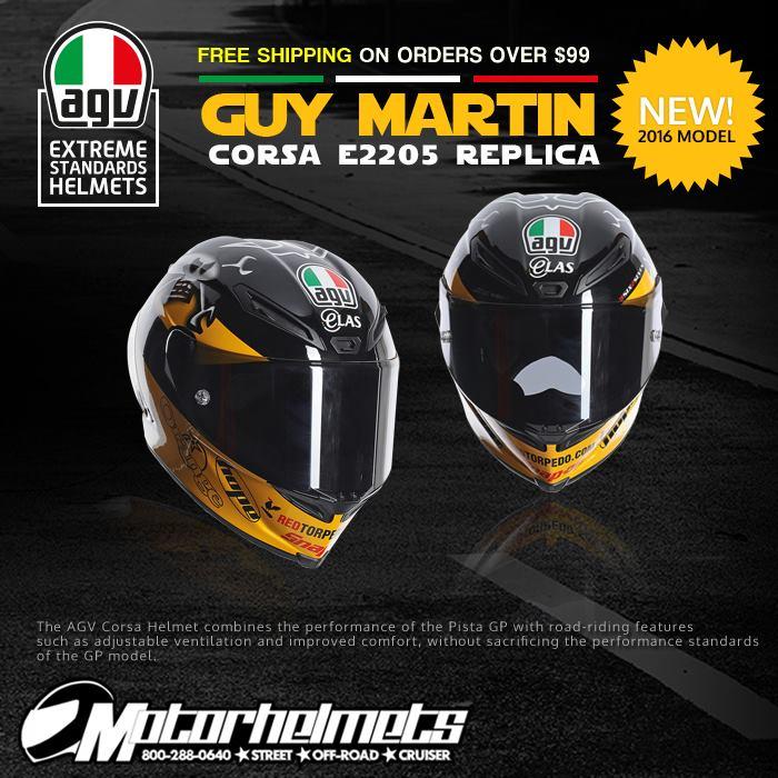 AGV Guy Martin Corsa Helmet