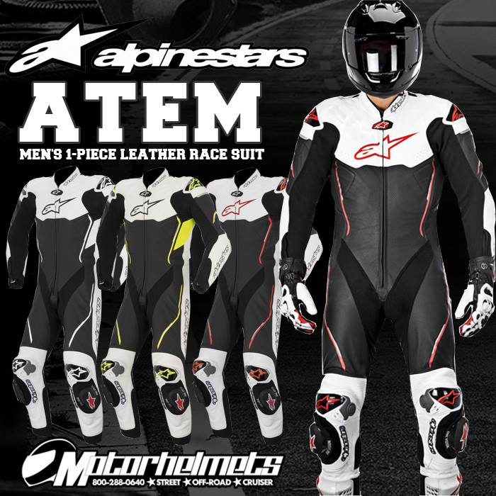 Alpinestars Atem Men's 1-Piece Leather Race Suit