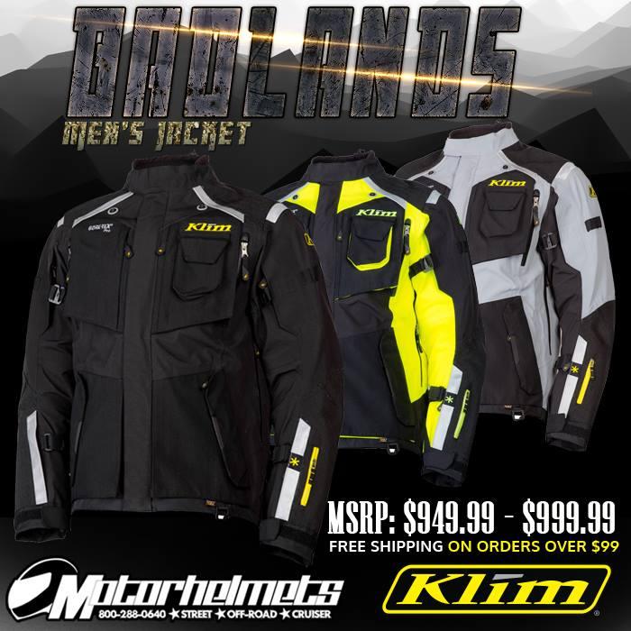 Klim Badlands Men's Motorcycle Off-Road Jacket