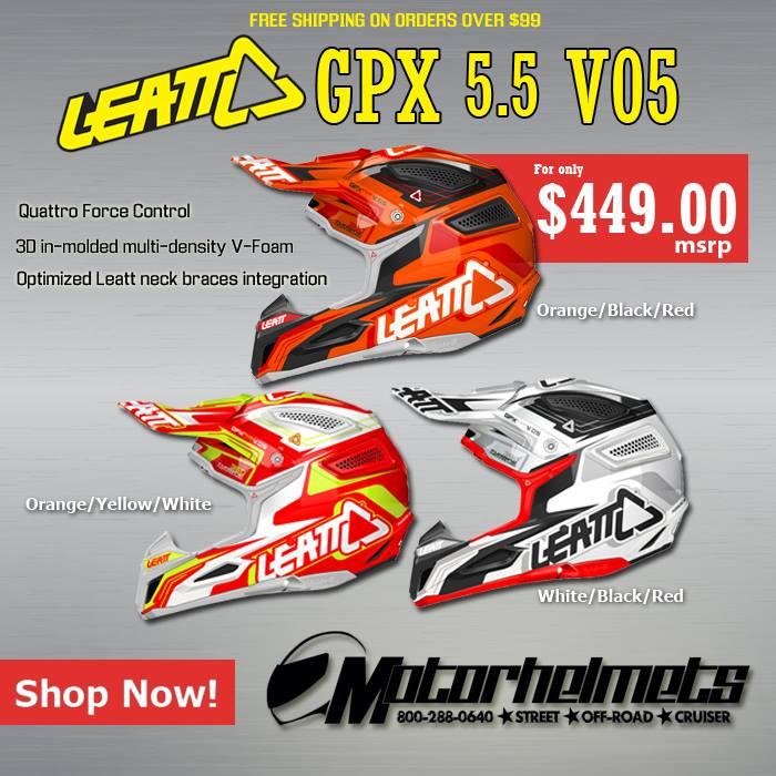 Leatt GPX 5.5 V05 Adult Helmet
