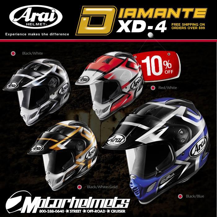 Arai Diamante XD-4 Helmet