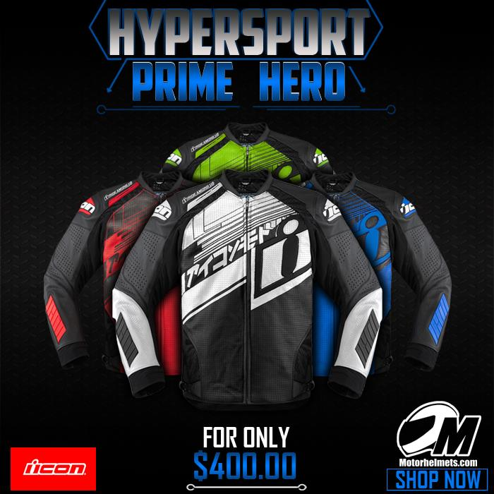 Hypersport Prime Hero Men's Leather Jacket