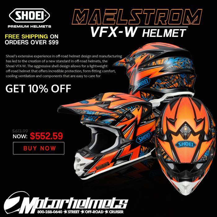 Shoei Maelstrom VFX-W Helmet