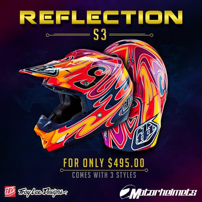 Troy Lee Designs Reflection SE3 Helmet