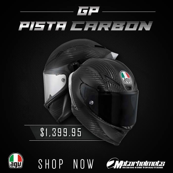 AGV Carbon Pista GP Helmet