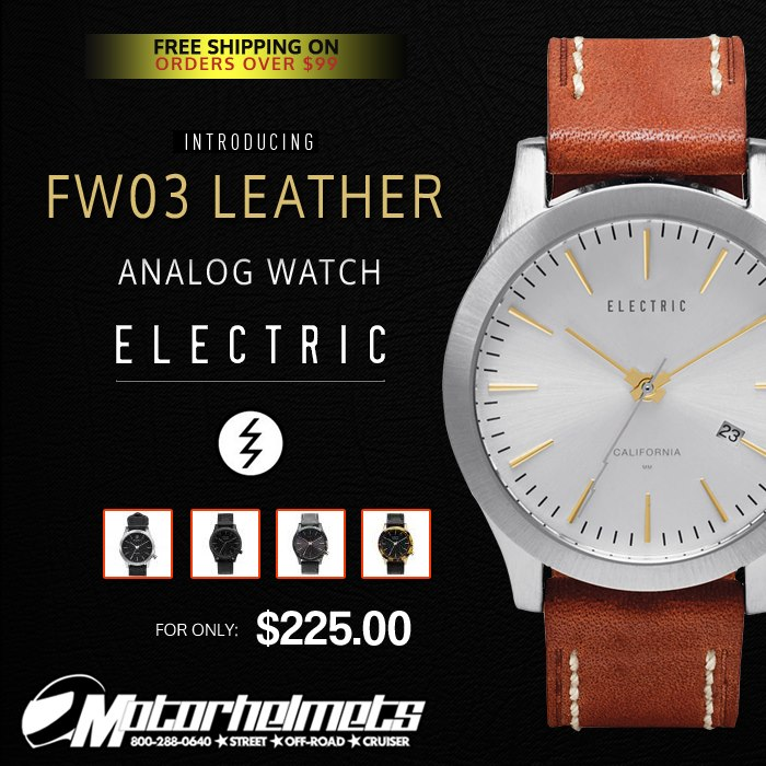 Electric FW03 Leather Adult Analog Watch