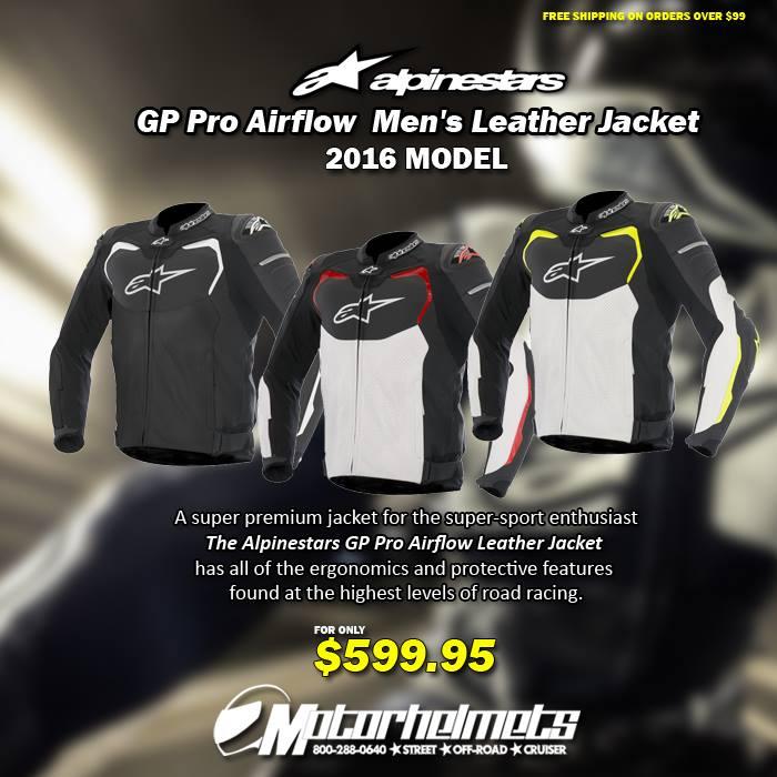 Alpinestars GP Pro Airflow Men's Leather Jacket