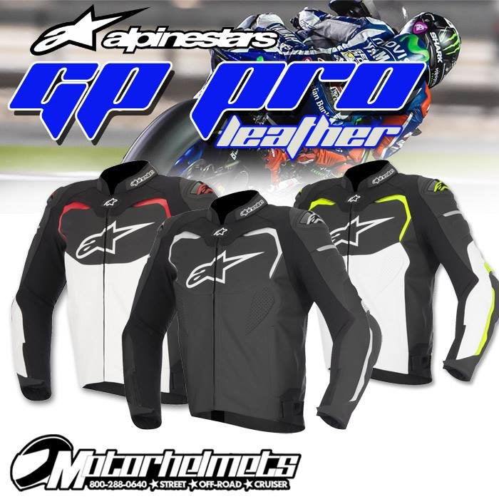Alpinestars GP Pro Men's Leather Motorcycle Street Jacket