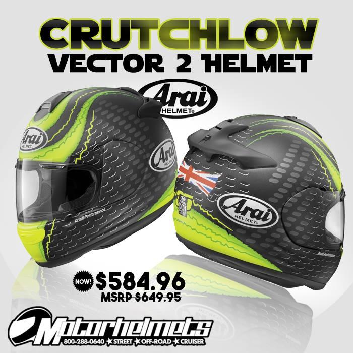 Arai Crutchlow Vector 2 Helmet