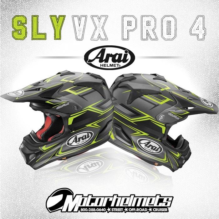 Arai Sly VX Pro 4 MX Motorcycle Helmet