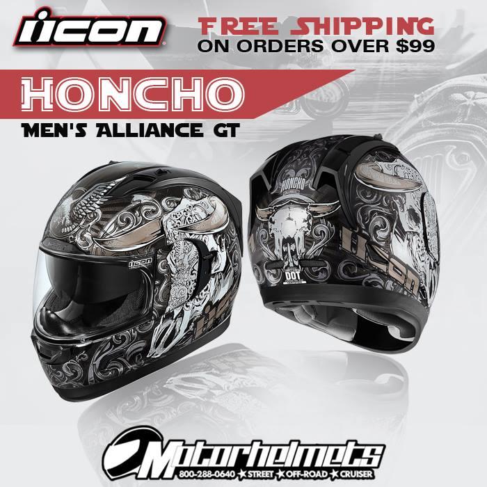 Icon Honcho Men's Alliance GT Helmet
