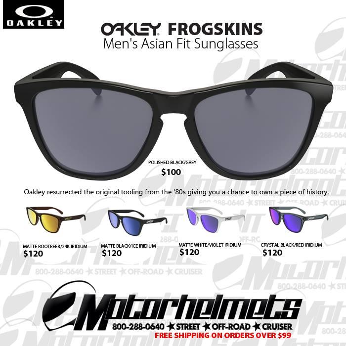 Oakley Frogskins Men's Asian Fit Sunglasses