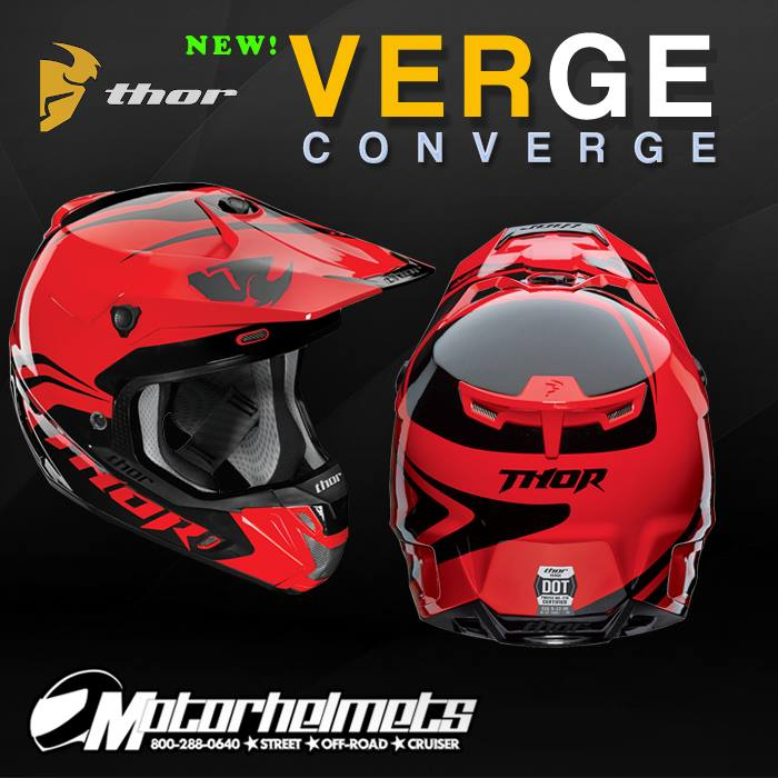 Thor MX Verge Converge Men's Helmet