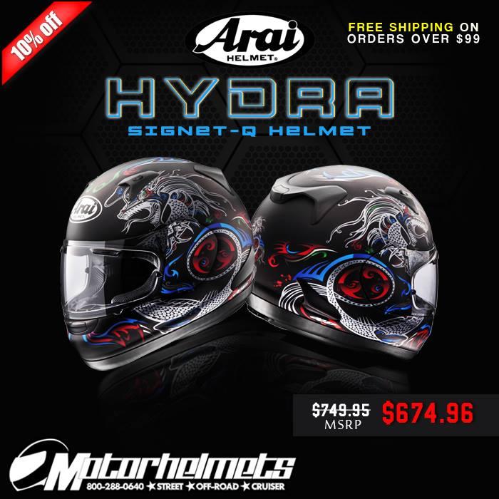 Arai Hydra Signet-Q Street Helmet