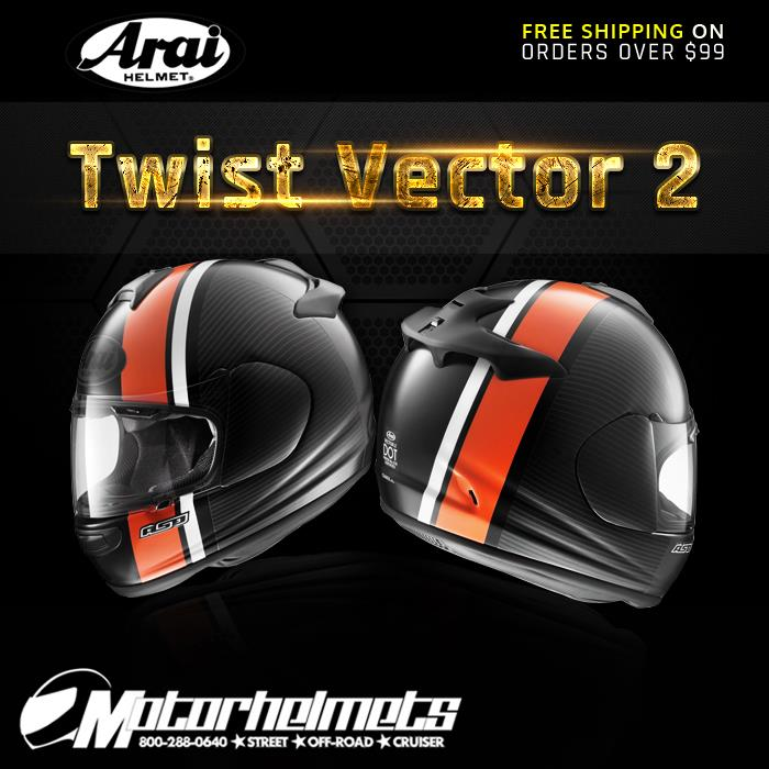 Arai Twist Vector 2 Helmet