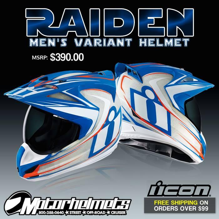 Icon Raiden Men's Variant Helmet