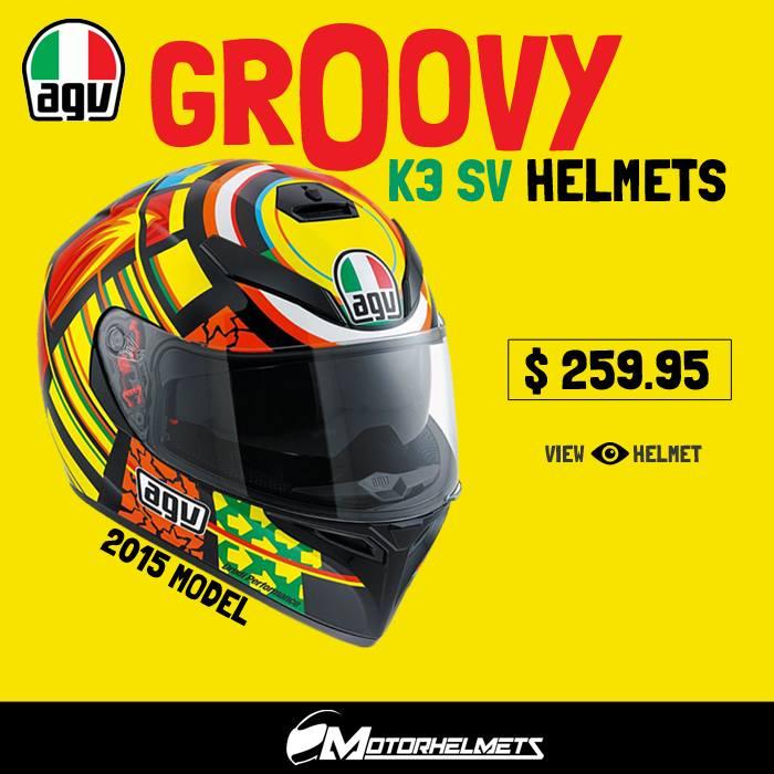 AGV K3 SV Helmets