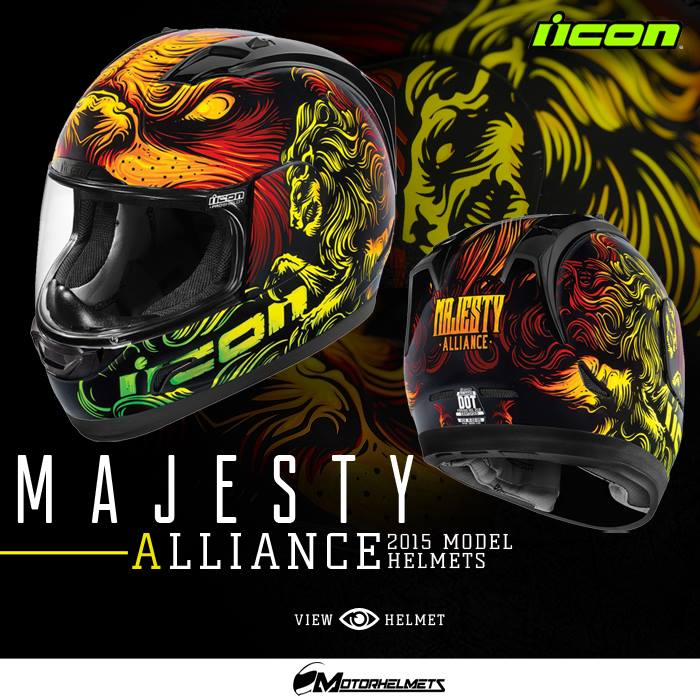 Icon Majesty Men's Alliance Helmets