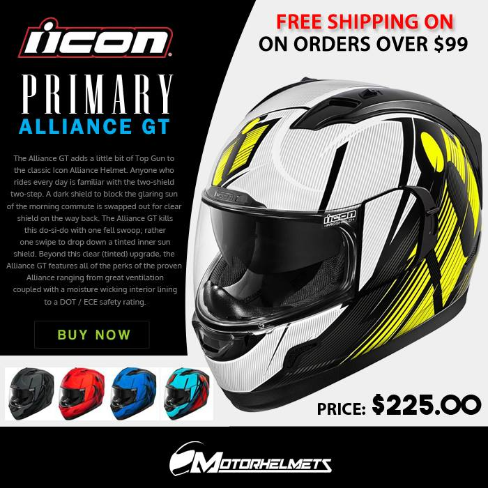 Icon Primary Men's Alliance GT Helmets