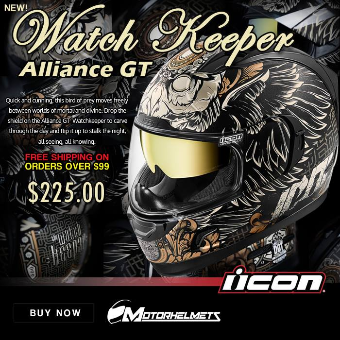 Icon Watch Keeper Men's Alliance GT Helmets