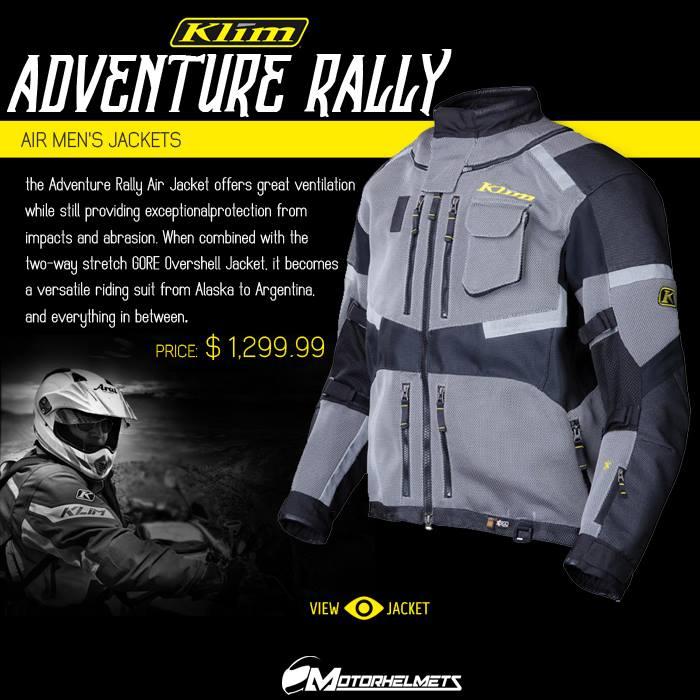 Klim Adventure Rally Air Men's Jackets