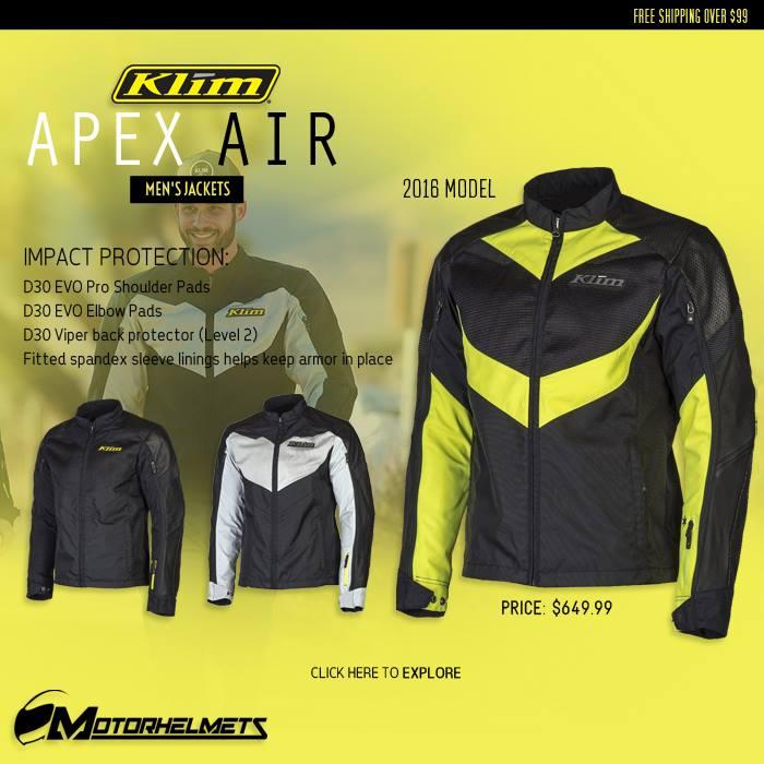 Klim Apex Air Men's Jackets
