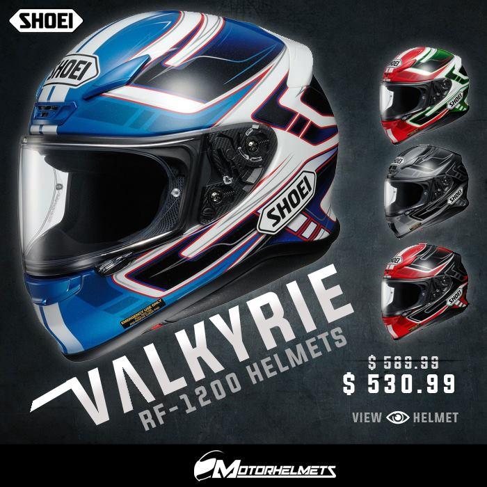 Shoei Valkyrie RF-1200 Helmets