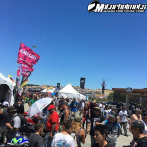 crowd at laguna seca