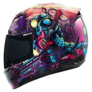 Icon Space Bass Face Airmada Helmet