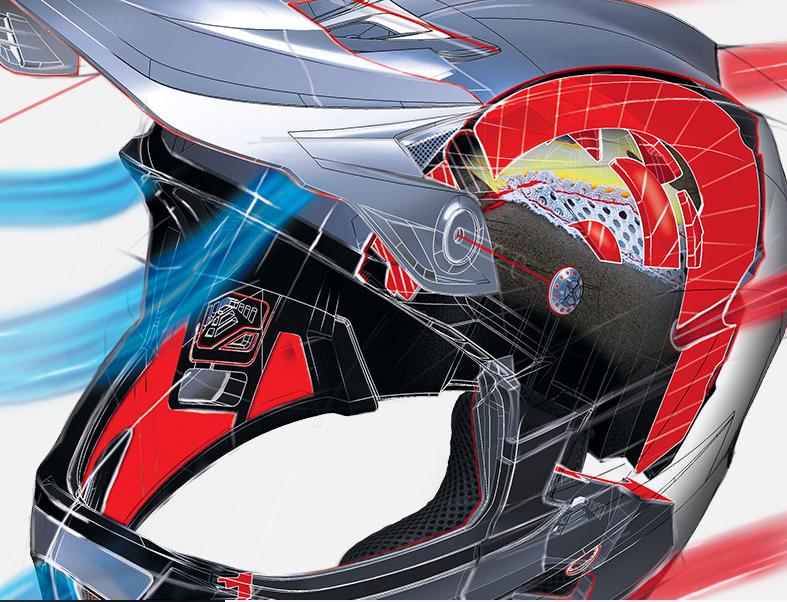 TLD helmet tech
