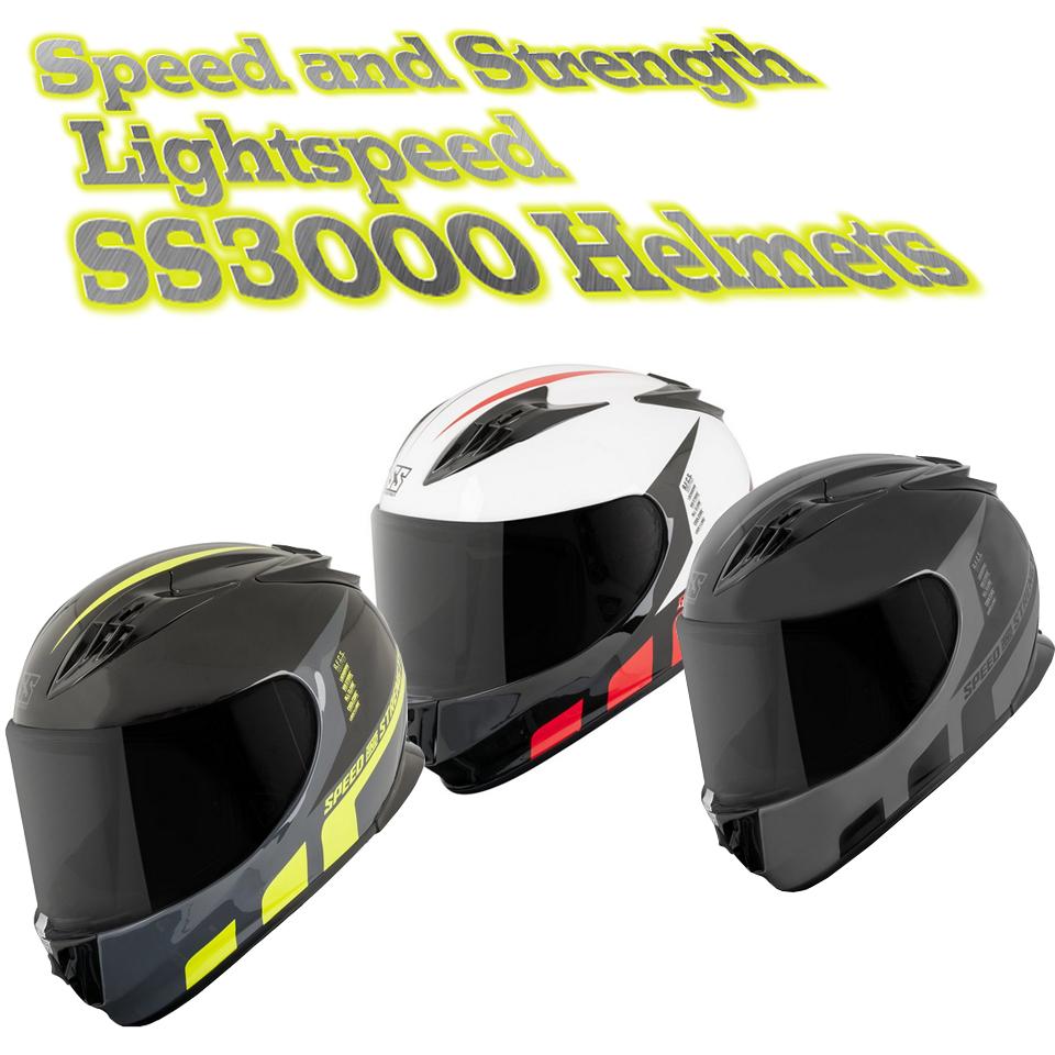 speed and strength lightspeed helmets
